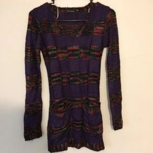 Trendy knitted style sweater by ultra flirt